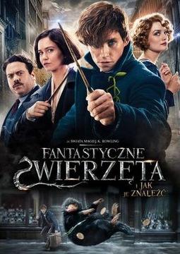 Dvd FANTASTYCZNE ZWIERZĘTA I JAK JE ZNALEŹĆ folia доставка товаров из Польши и Allegro на русском