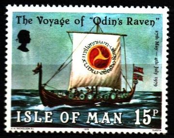 Isle of Man. Мне 156 ** - Ладья Викингов доставка товаров из Польши и Allegro на русском