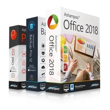 Набор Office 2018 PDF Pro Backup Pro 12 Ashampoo доставка товаров из Польши и Allegro на русском