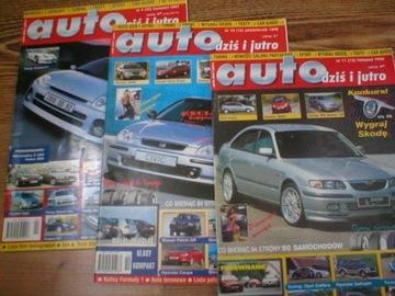 АВТО сегодня и завтра№: 10/1998,11/1988,4/2001 доставка товаров из Польши и Allegro на русском