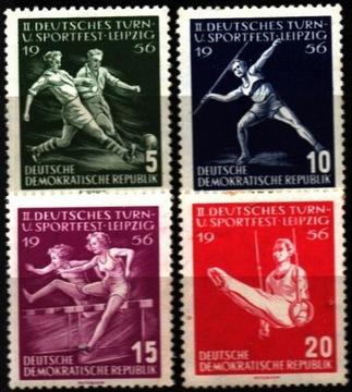 ГДР. Мне 530-33 ** - спортивные Игры в Лейпциге доставка товаров из Польши и Allegro на русском