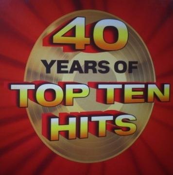 40 YEARS OF TOP TEN HITS 7LP 1992 UK BOX доставка товаров из Польши и Allegro на русском