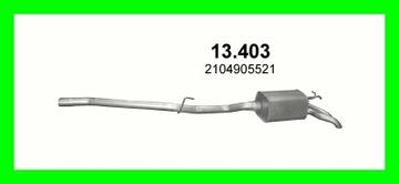 TLUMIK KONCOWY MERCEDES W210 13.403 BIALYSTOK