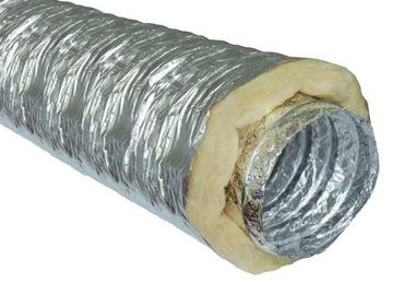 Izolované potrubie TERMOFLEX spiro potrubie 125 / 10m