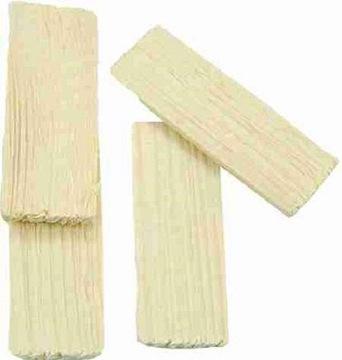 Jednoduché drevené dlaždice pre postieľku - 200ks. 5x2cm