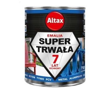 Viacúčelová farba ALTAX 0,75 l PVC drevo na kov