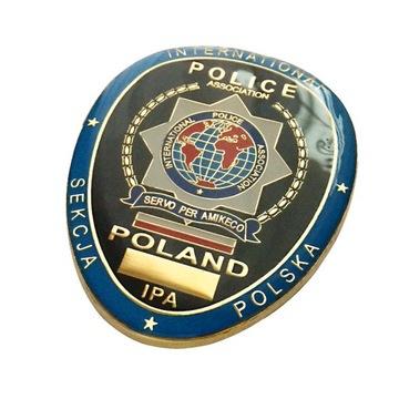 IPA International Policajné združenie odznak