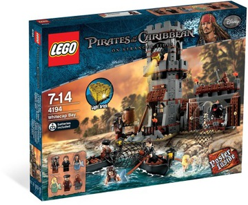 lego pirates of the caribbean 4194 FOAM WAVE BAY