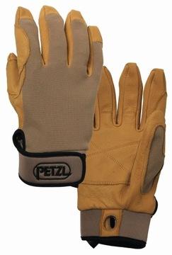 PETZL CORDEX Rukavice Brown XL - K52 XLT