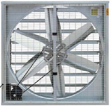 Peak stenový ventilátor 44500m3 / h Priemyselné