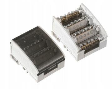 Powbol 4x7 160A Distribučný blok prepínača