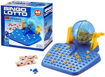 Bingo Lotto hra Rodinná hra na myslenie 1689