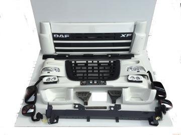 Daf xf 105 бампер решетка фара обтекатель, фото