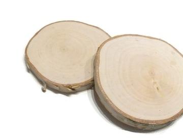 Деревянные ломтики, диски по дереву 17-20 см, молотые
