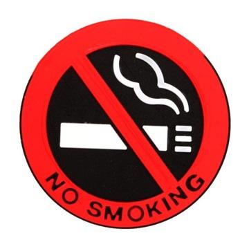 Не курить НЕ КУРИТЬ резиновую наклейку 3d