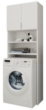 Купить Шкафчик для ванной над стиральной машиной FRANIA белый книжный шкаф на Otpravka - цены и фото - доставка из Польши и стран Европы в Украину.