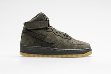 Nike Air Force 1 mid FLAX Zimowe pszenicy Suede