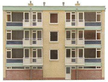 Фасад жилого дома H0 Artitec 10.283