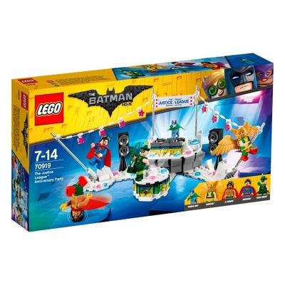 LEGO Batman Movie Impreza jubileuszowa Ligi 70919