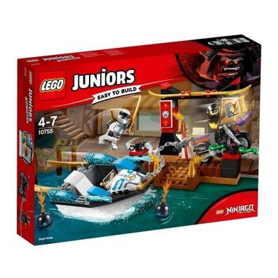 LEGO Juniors Klocki Wodny pościg Zane'a 10755