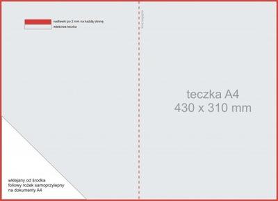 Teczki ofertowe laminowana A4 20 szt fv 48h P