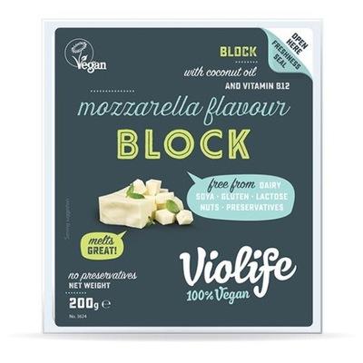 ??? веганский сыр моцарелла блок 200? - Violife