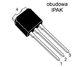 [STcs] IRFU9024 P-MOSFET -60V -8A8 0R28 IPAK
