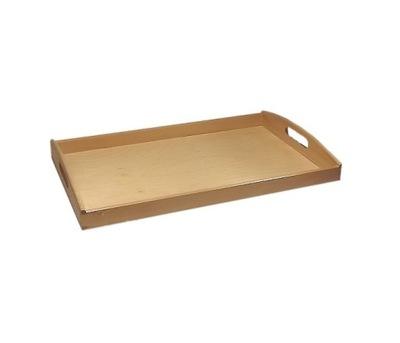 Лоток кухонная kelnerska деревянная 40x30 натуральная