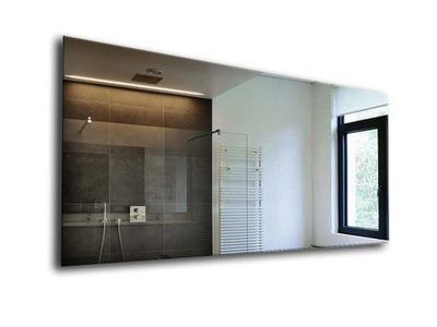 зеркало ШЛИФОМ для ванные комнаты + ПОЛИРОВКА 80x60