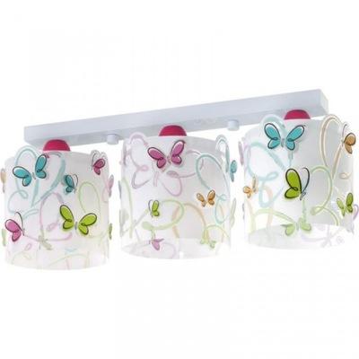 stropné svietidlo Motýle, Mory, popruh triple 3 pk