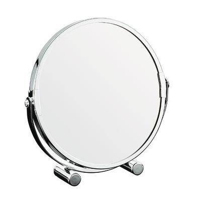 ЗЕРКАЛО 2 ХВОСТ косметические для ВАННОЙ комнаты X3 Хром