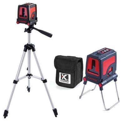 Laserový merač - NAPÁJANIE KAPRO + STATYW 105CM BAG 30M