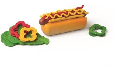 Príslušenstvo pre-deti - woody Hot Dog Nastavenie pre hry Shop Kuchynské Spotrebiče