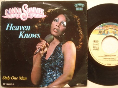 DONNA SUMMER - HEAVEN KNOWS - ONLY ONE MAN