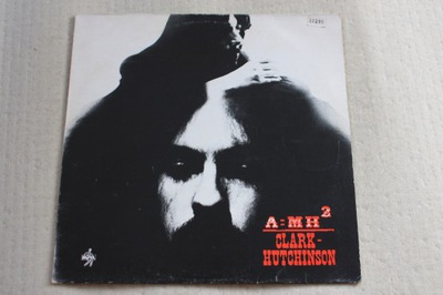 Clark Hutchinson A&#x3DMH2 Progresiv rock 1970 LP EX