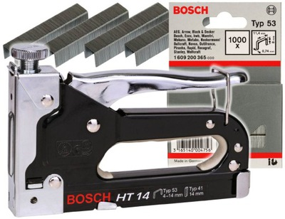 СТЕПЛЕР ручной HT 14 Bosch + 1000 скобы Bosch