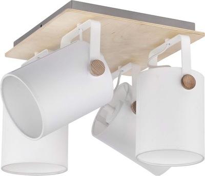 stropné svietidlo Relaxovať 4 Biele plafond SK moderné