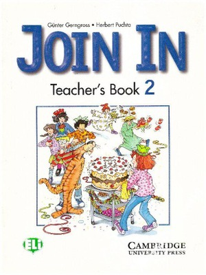Join in 2 Teacher's Book Cambridge NOWA english