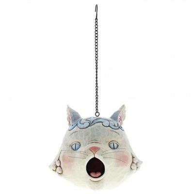 Mačiatko sivom poli hniezdenie mačka Grey Cat Birdhouse 60