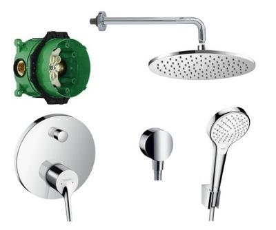 Sprcha - Súprava podložiek. Hansgrohe Talis New / Omnires - 20 cm
