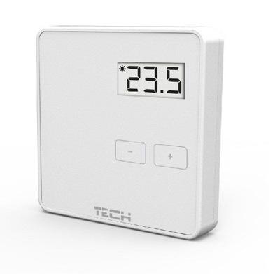 Podlahové vykurovanie - Regulátor teploty WIRE biela TECH ST-294V1