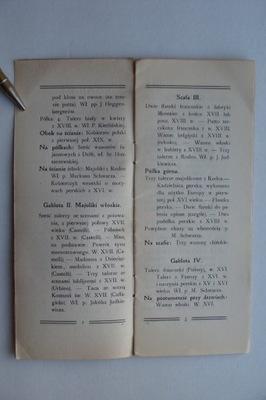 KRAKÓW PRZEWODNIK PO WYSTAWIE CERAMIKI 1904
