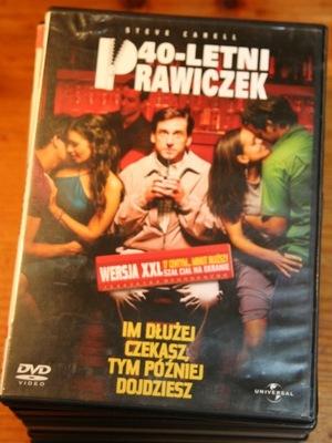 40-LETNI PRAWICZEK    DVD