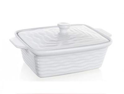 Sklanené pokáče - NACZYNIE DO ZAPIEKANIA +pokrywa BANQUET 09 ceramik
