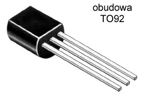 [STcs] BC338 40 NPN 30V 0,8A 0W6 TO92 ___x 10szt