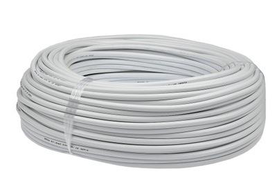 Kábel 2x1 OHM kábel biely 100m
