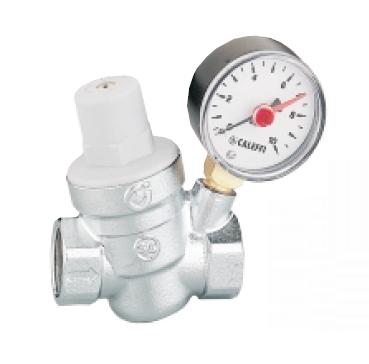 Tlakový redukčný ventil s tlakomerom CALEFFI 533251 3/4