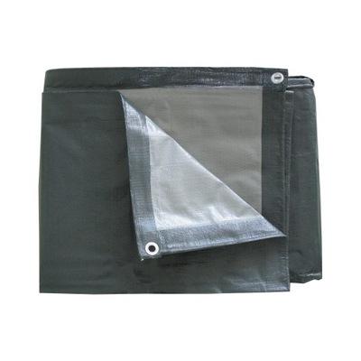 Stan 4x5 šedo-strieborná 200 g/m2 plachtou