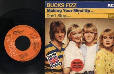 BUCKS FIZZ - MAKING YOUR MIND UP - DON'T STOP