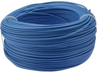 Kábel, drôt, kábel LGY H07V-K 1. 5mm2 modrá 100m